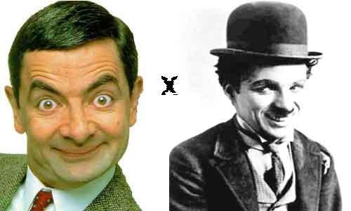 Mr Bean X Charlie Chaplin