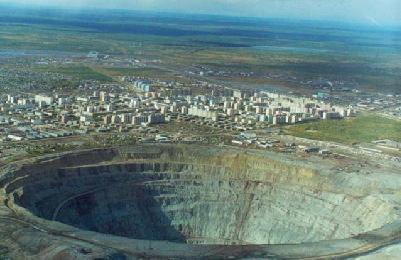 Maior buraco do mundo – seria sua cidade?