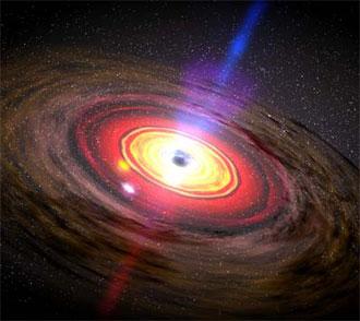 Espaço-Os buracos Negros e seus mistérios