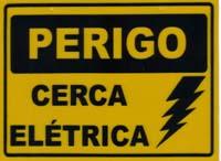 Segurança-Cerca elétrica