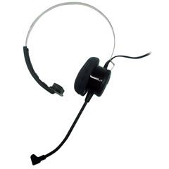 Trabalho-Falar no telefone e computador use um head fone