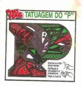 Tatuagens de chicletes