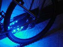 Neon para sua bicicleta tuning