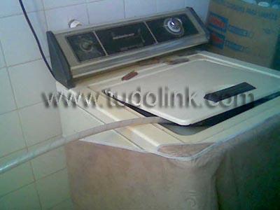 A minha maquina de lavar roupas