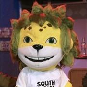 Leopardo Zakumi mascote da Copa do Mundo 2010-África