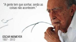 Morre Oscar Niemeyer um gênio brasileiro