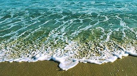 Conhecer o mar a praia pela primeira vez