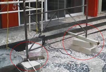 Segurança no Trabalho-Trabalhos em altura andaimes