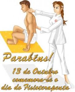 Dia 13 de outubro-Dia do Fisioterapeuta