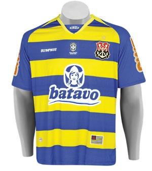 Novo uniforme-Nova Camisa do Flamengo Amarela e azul