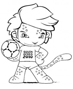Mascote copa 2010