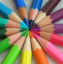 Lápis de cor para colorir