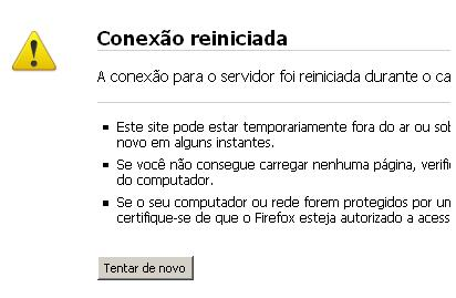 Site do hotmail.com fora do ar e não acessa