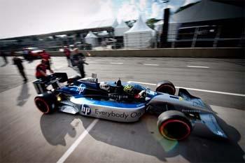 Carro de dois lugares Formula Indy