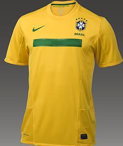Nova camisa seleção Brasileira 2011 faixa verde Copa América
