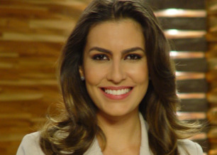 Ticiana Villas Boas apresentadora do Jornal da Band
