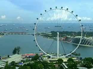 Turismo-Roda Gigante de Cingapura