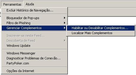 Internet Explorer não abre e retorna erro que precisa ser fechado