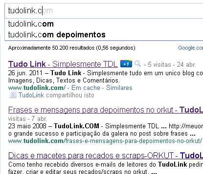 Como desativar o Google Instant Search