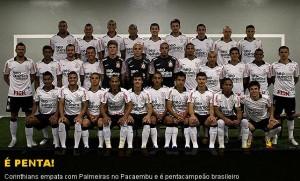 Timão é Pentacampeão-Corinthians Campeão Brasileiro 2011