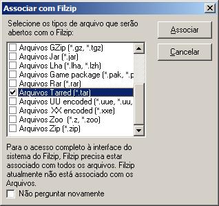 Abrir arquivo tar no Windows com WinRar ou FilZip