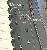 Massa e Alonso o segundo e o primeiro