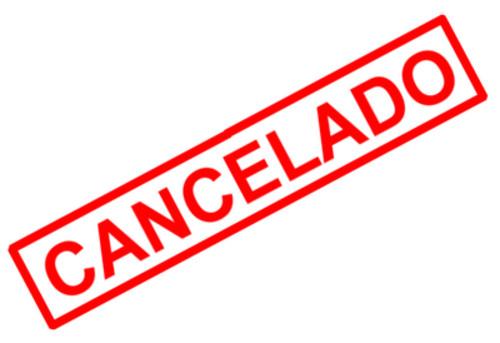 cancelado