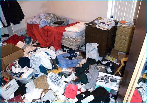 Como manter o quarto limpo e organizado