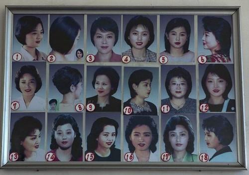 Cortes de cabelo Coreia do Norte
