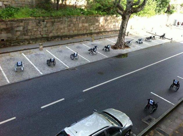 A importância de respeitar as vagas de estacionamento para cadeirantes