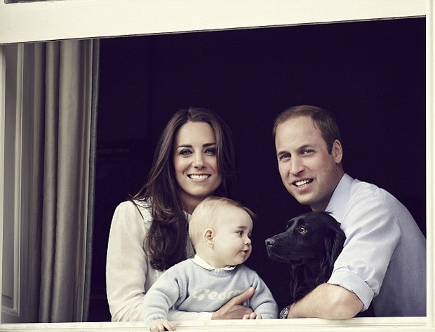 kate-principe-william-george-e-o-cachorro