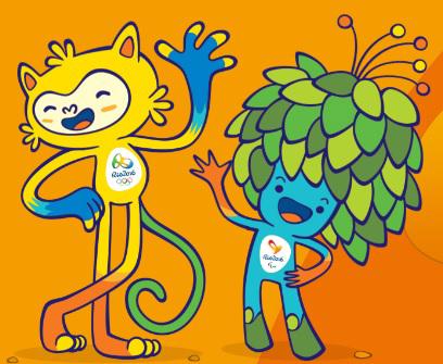 Votação dos mascotes das Olimpíadas do Rio 2016
