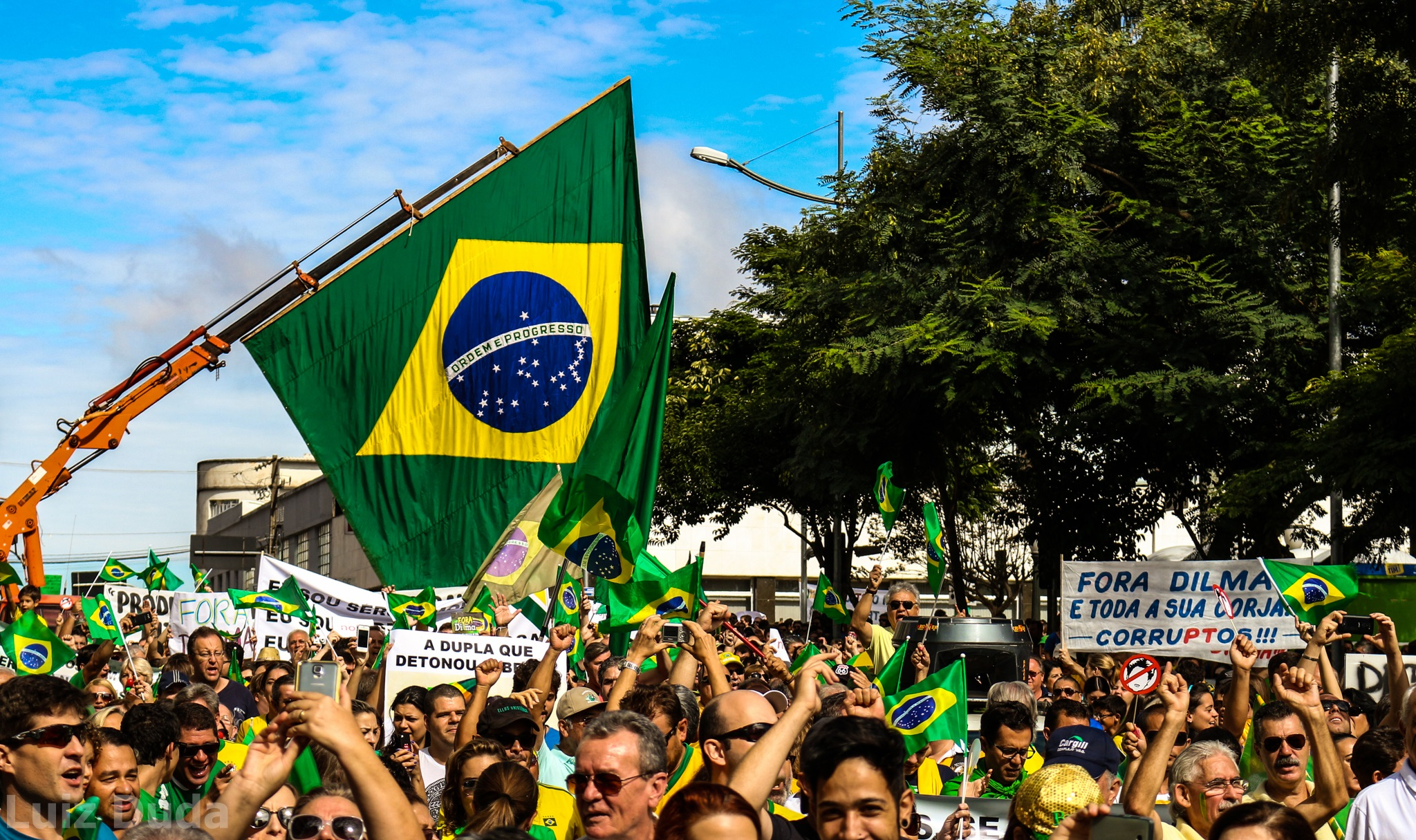 Protestos contra o Governo da Dilma 15 de março de 2015-Ponta Grossa Manifestação