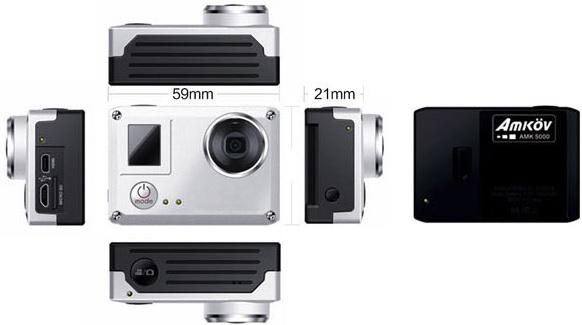 Câmera Amkov AMK5000S preço e caracteristicas